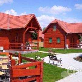 Thermal and residential village with renewable energies, with passive houses